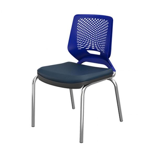 Cadeira Beezi 04 Pés Cromada
