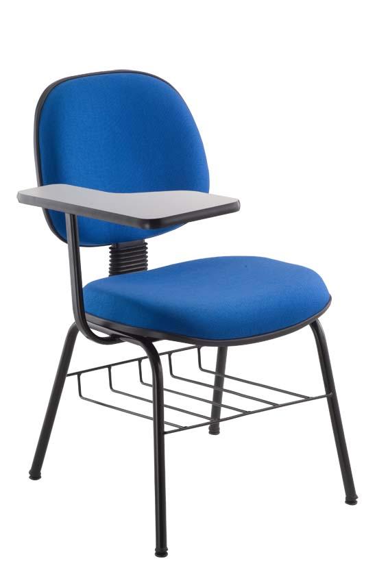 Cadeira executiva com prancheta