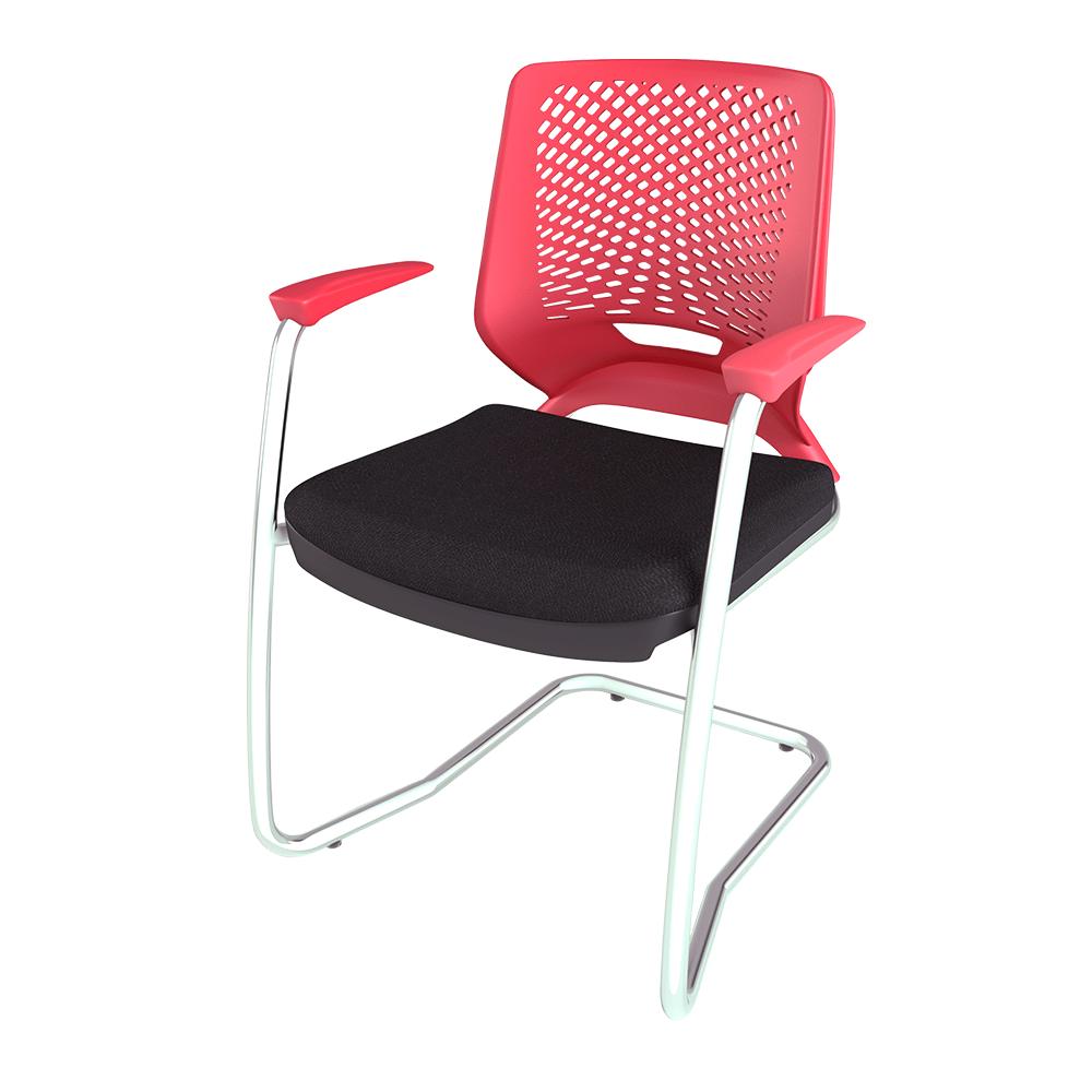 Cadeira Beezi Aproximação Cromada